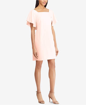 American Living Flutter-Sleeve Dress