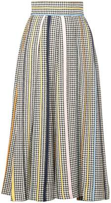 Rosie Assoulin pleated mid-length skirt