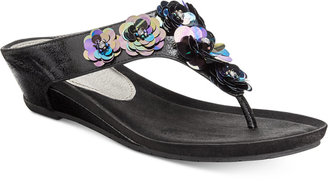 Kenneth Cole Reaction Women's Great Party Wedge Sandals Women's Shoes $59 thestylecure.com