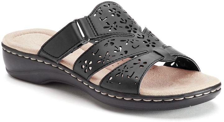 Croft & Barrow Women's Cutout Slide Sandals