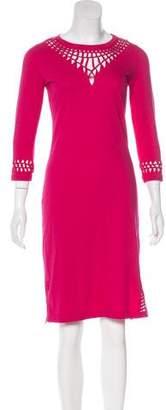 Jean Paul Gaultier Cutout Knee-Length Dress