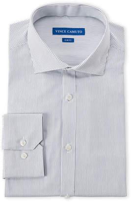 Vince Camuto Pinstripe Slim Fit Dress Shirt