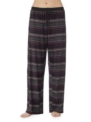 Secret Treasures Modern Separates Women's and Women's Plus Long Sleeve Velour Sleepwear Pant