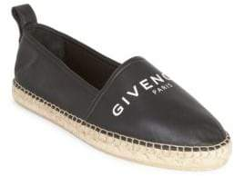Givenchy Logo Leather Espadrilles