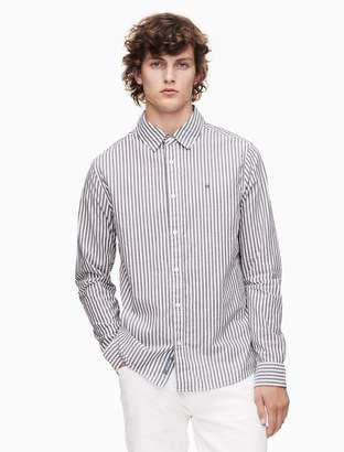 Calvin Klein regular fit striped shirt