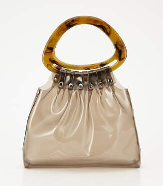 SLY (スライ) - Oval Handle Clear Bag