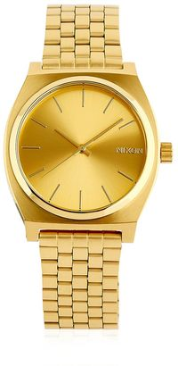 Time Teller Gold Finish & Dial Watch $125 thestylecure.com