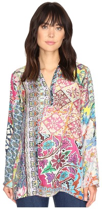 Johnny Was - Revine Top Women's Clothing $210 thestylecure.com