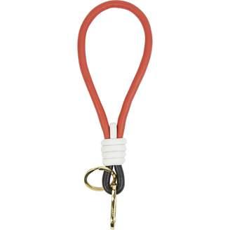 Loewe Red Leather Bag charms