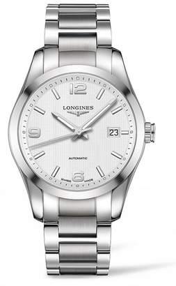Longines Conquest Classic Automatic Bracelet Watch, 40mm