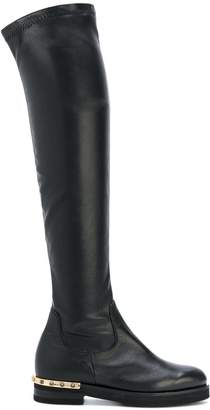 Baldinini studded heel boots