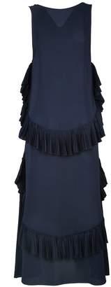 N°21 N.21 Ruffle-trim Crepe Dress