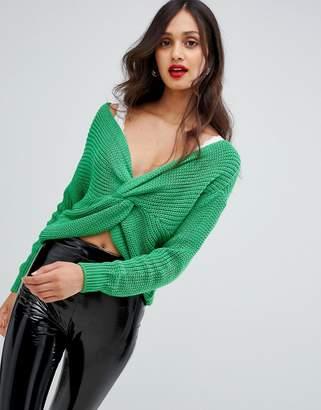 AX Paris twist front sweater