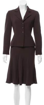 Valentino Wool Skirt Suit