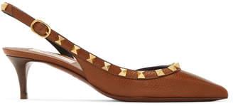 Valentino Tan Garavani Slingback Heels