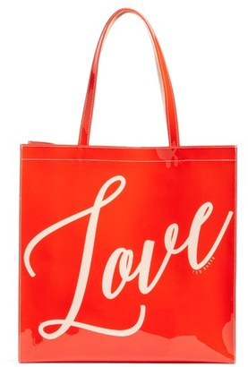Ted Baker London Large Love Icon Reversible Tote - White $59 thestylecure.com