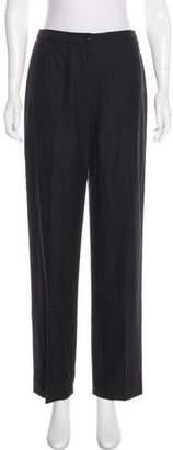 Hermes Wool Mid-Rise Pants