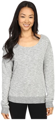 Hard Tail Slouch Back Sweatshirt $92 thestylecure.com