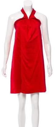 Martin Grant Halter Mini Dress
