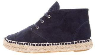 Chanel Espadrille Chukka Boots