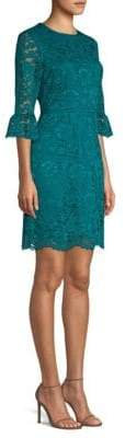 Draper James Lace Bell Sleeve Dress
