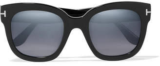 Tom Ford Cat-eye Acetate Sunglasses - Black