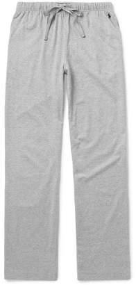 Polo Ralph Lauren Mélange Cotton-jersey Pyjama Trousers