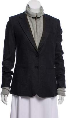 Veronica Beard Long Sleeve Textured Blazer
