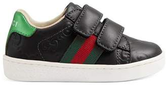 Gucci Toddler Ace Signature sneaker
