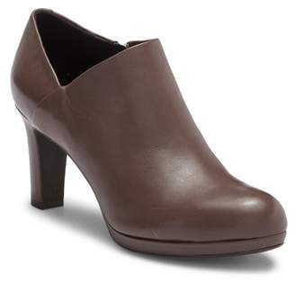 Geox Lana Leather Ankle Bootie