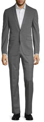 Solid-Tone Suit Separate Jacket