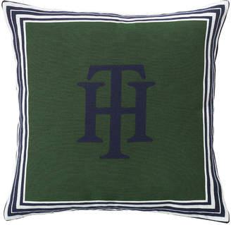 Tommy Hilfiger Jacquard Marine Cushion
