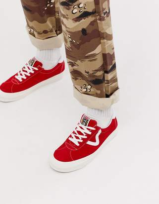dc33ef192b48 Vans Anaheim Style 73 trainers in red