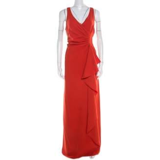 Armani Collezioni Red Polyester Dresses