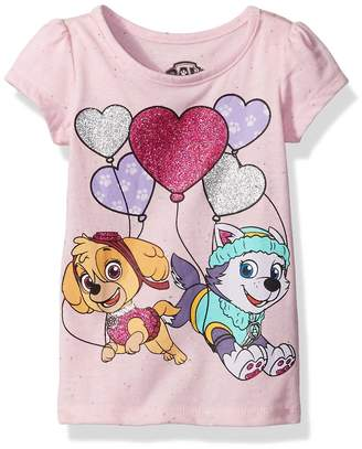 Nickelodeon Paw Patrol Little Girls' Toddler Short Sleeve T-Shirt