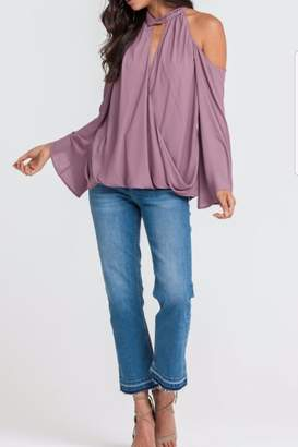 Lush Romantic Flow Top