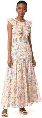 Rebecca Taylor Gigi Maxi Dress $595 thestylecure.com