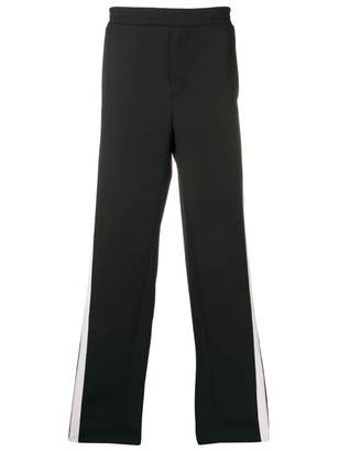 Valentino side panelled track pants
