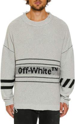 Off-White Off White Men's Cotton Sweater