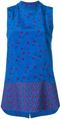 Marni sleeveless tunic blouse