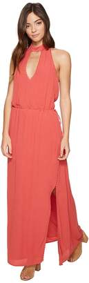 The Jetset Diaries Golden Island Maxi Dress Women's Dress