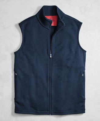 Brooks Brothers Golden Fleece BrooksTech Performance Full-Zip Vest