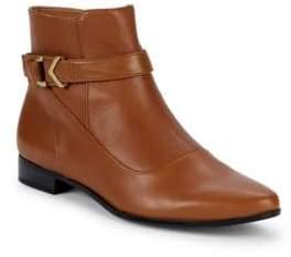 Calvin Klein Farryn Buckle Ankle Booties