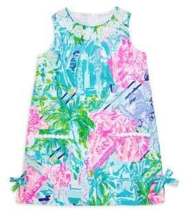 Lilly Pulitzer Little Girl's& Girl's Printed Cotton Dress