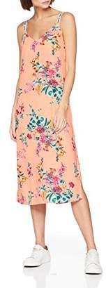 Tommy Jeans Women's Floral Print Halterneck Dress,Large