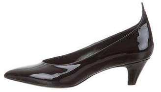 Calvin Klein Pointed-Toe Patent Leather Pumps w/ Tags