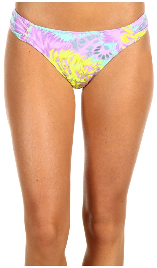 Nanette Lepore Palm Beach Tropical Siren Bottom (Neon Citron) - Apparel