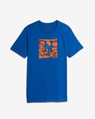 Express New York Mets Camo Graphic Tee