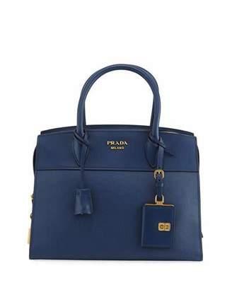 Prada Esplanade Medium Leather City Satchel Bag