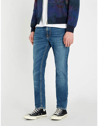 Nudie Jeans Lean Dean slim-fit straight jeans